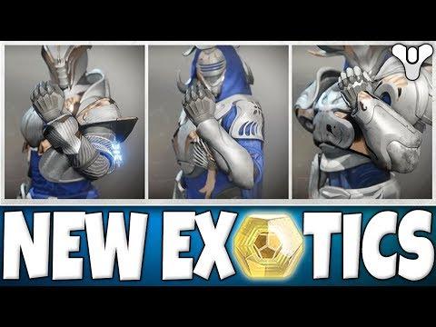 Destiny 2 BIG News - NEW EXOTICS - Events & Seasons - The Dawning! New Iron Banner/Trials Ornaments