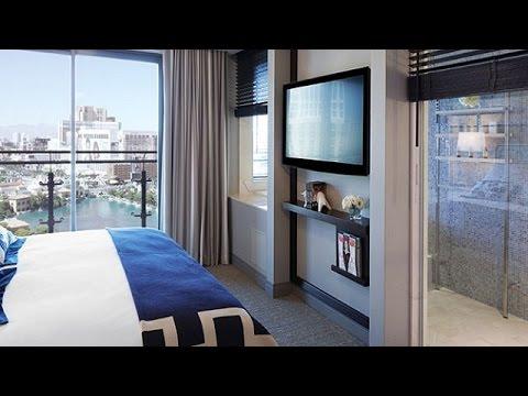 terrace one bedroom tour - cosmopolitan of las vegas - youtube