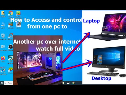 how-to-access-and-control-one-pc-to-another-pc-over-internet-easily-|