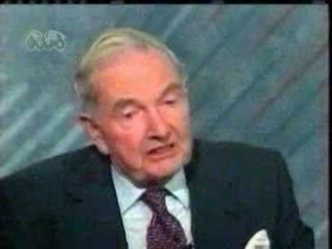 David Rockefeller met with Saddam