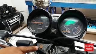 Como resetar a central eletrônica e como fazer a leitura dos códigos de piscadas das motos (HONDA)!