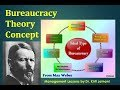 Max weber Bureaucracy theory (Session 7) by management lessons