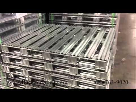 Steel Pallets -  800-763-9020