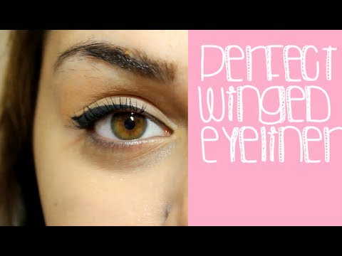 Perfect Winged Eyeliner- Different Methods! - YouTube