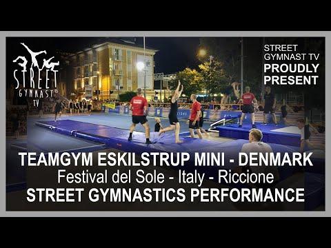 Teamgym Eskilstrup Mini visited Festival del Sole, Street Gymnastics