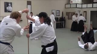 Nakamura Sensei teaches JO-NAGE Aikido techniques in Colorado