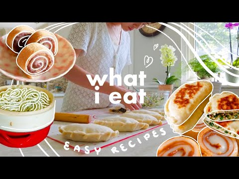WHAT I EAT 🍜 Easy Asian Recipes - breakfast, lunch, dinner (bilingual)