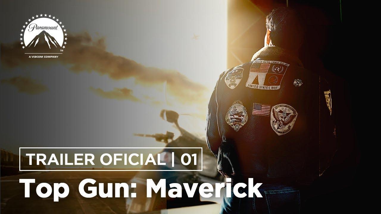 Top Gun: Maverick | Trailer Oficial #1 | LEG | Paramount Pictures Brasil