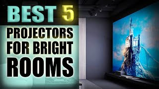 Best Projectors for Bright rooms - (The best 5 in 2020)