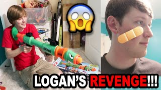 LOGAN GETS REVENGE!!! | For The Baseball Bat Incident? | BTS