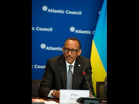 President Kagame speaks at Atlantic Council Roundtable | Washington,  D.C. 27 March 2017