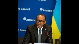 President Kagame speaks at Atlantic Council Roundtable | Washington,  D.C. 27 March 2017