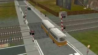 Bus on Trainz 2004