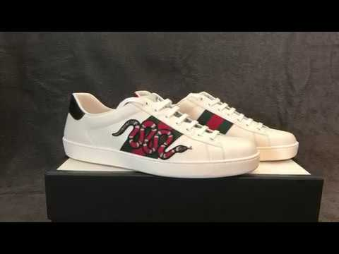Unboxing gucci ace snake sneakers - STELOlife - YouTube 375cc550b