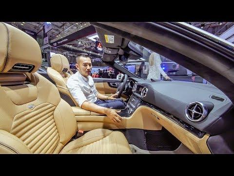 VMS 2018 - Khám phá Mercedes SL400 giá 6,2 tỷ mui trần đẹp rực rỡ tại Việt Nam