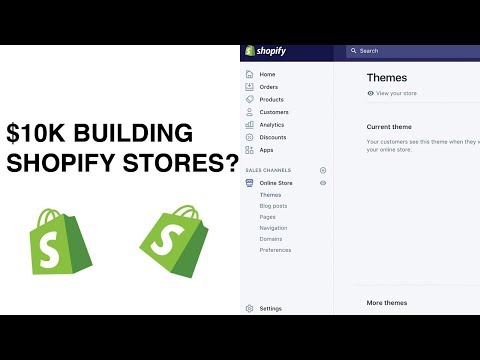 MAKE $10K PER MONTH BUILDING SHOPIFY STORES?!