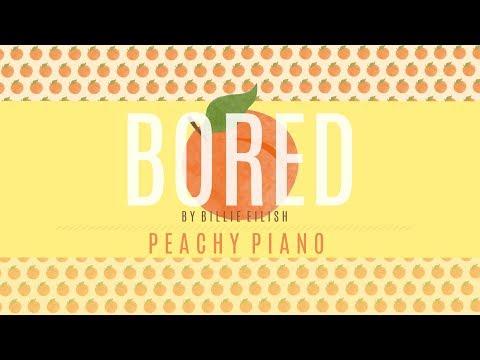 Bored - Billie Eilish | Piano Backing Track