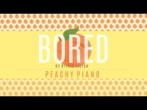 Bored - Billie Eilish | Piano Backing Track