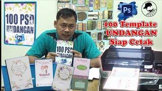 jual dvd 100 desain undangan siap cetak PSD file