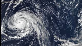 Hurricane Ophelia is the Strongest Hurricane to Form East of the United States
