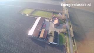 Energieplusdak in uitvoering