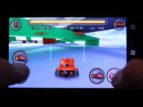 Nokia Lumia 800 Gaming: Jet Car Stunts Gameplay Xbox Live Marketplace Windows Phone 7.5 Mango! (HD)