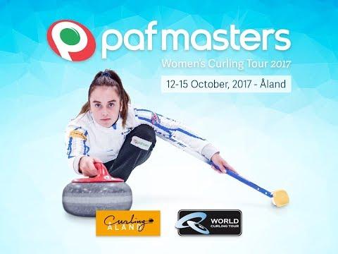 Paf Masters, Women's Curling Tour 2017, Round Robin, Team Rudzite (LAT) - Kauste (FIN)