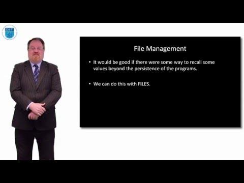 Python: File Management