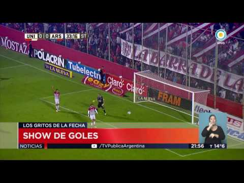 Primera División Goles de la fecha 25