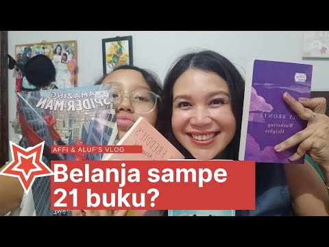 Affi & Aluf Kalap Di Big Bad Wolf Book Sale + Book Haul!