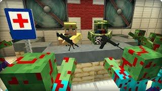 Самое опасное место в бункере [ЧАСТЬ 19] Зомби апокалипсис в майнкрафт! - (Minecraft - Сериал)