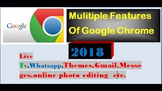 Google Chrome With Multiple Features...