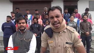 CWE | CWE family shows anger on terrorism acts at Pulwama Jammu.