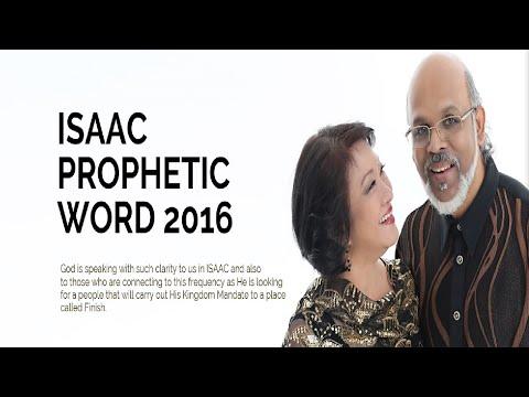 Dr.Jonathan David -  Prophetic Word For 2016 (ISAAC)