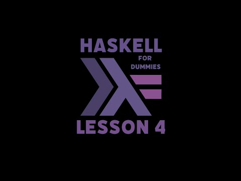 Learning Haskell for