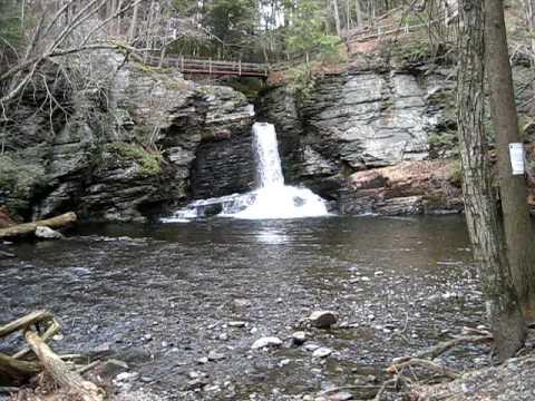Download Deer Leap Falls  Background