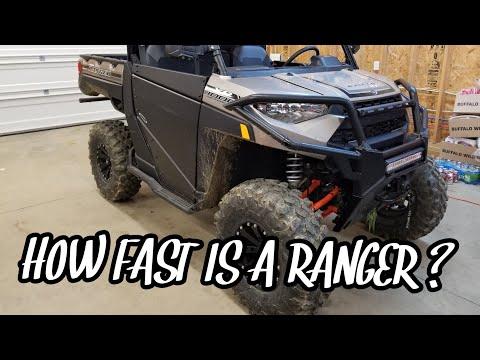 Polaris Ranger XP 1000 Top Speed In 1/8 Mile