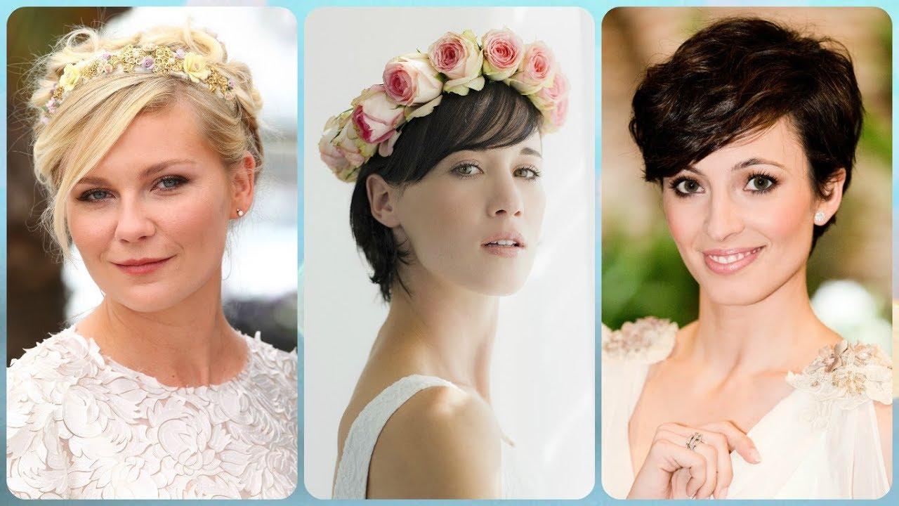 Coafuri Noi Par Scurt Pentru Nunta Youtube