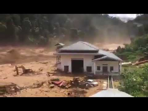 Breaking News: UNBELIEVABLE!  Dam Breaks in NE Laos