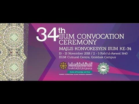 34th IIUM CONVOCATION CEREMONY - Session 3