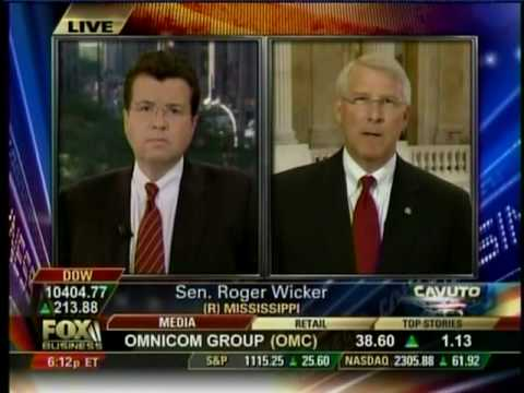 Senator Roger Wicker Discusses Upcoming Presidential Address with Neil Cavuto on Fox Business