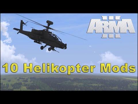 ArmA 3 - 10 aktuelle Helikopter-Mods (11/2015)