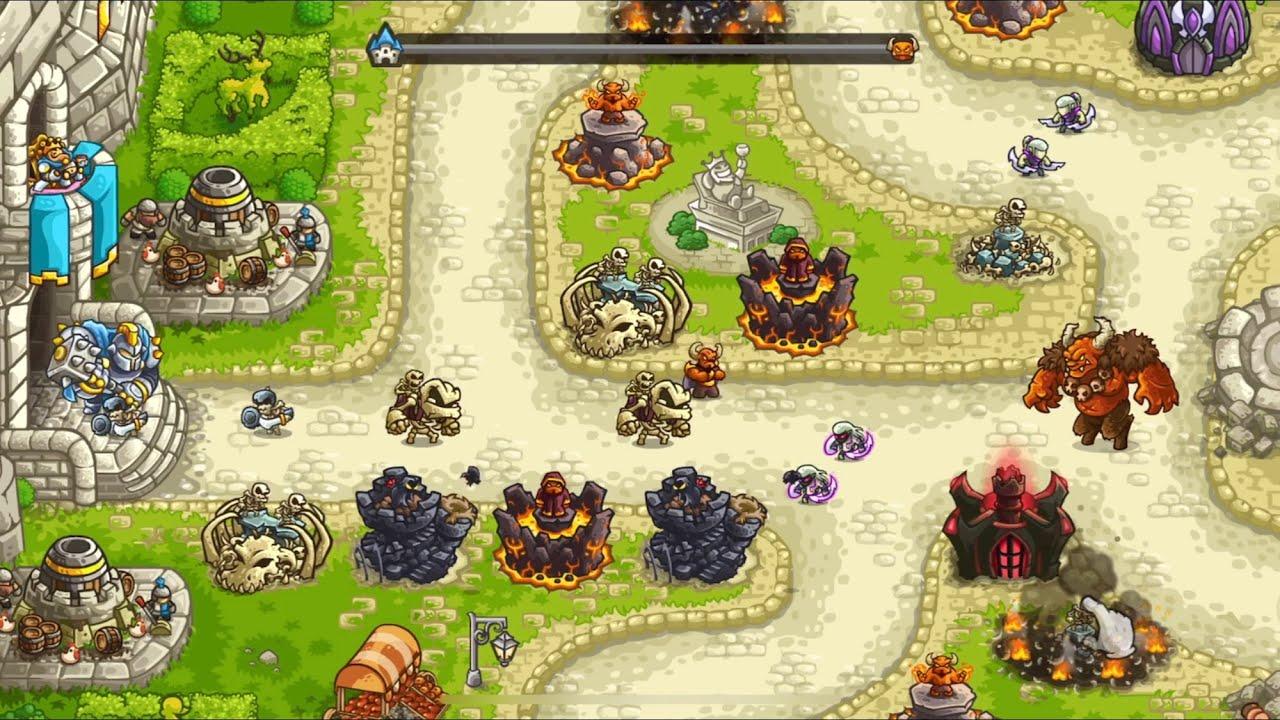 Kingdom rush vengeance - tower defense igg