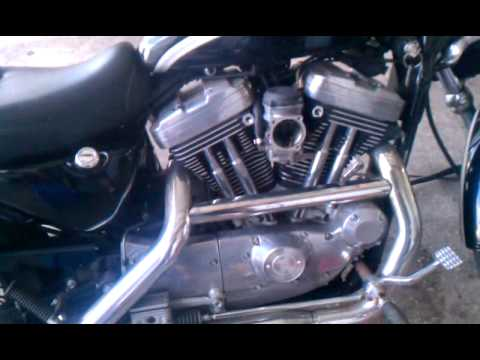 Harley backfiring by Chuck Terry