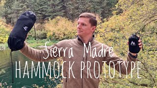 Sierra Madre Hammock System Prototype | Quick First Look