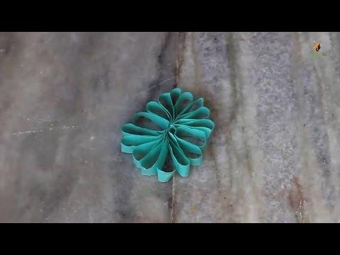 Paper Swirls | Handmade Crafts | Paper Crafts by SrujanaTV