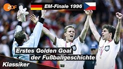 Fußball-Klassiker | EM-Finale 1996: Deutschland - Tschechien 2:1 nach Golden Goal | SPORTextra - ZDF