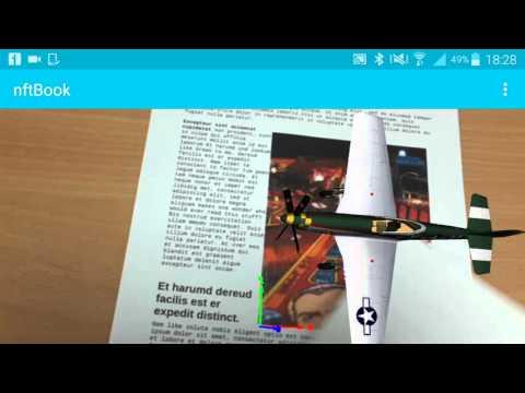 Realidad aumentada - ejemplo modificado con ARToolkit