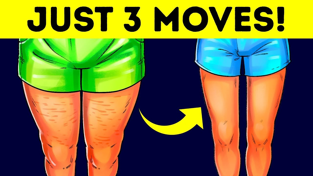 3 Easy Exercises To Lose Thigh Fat