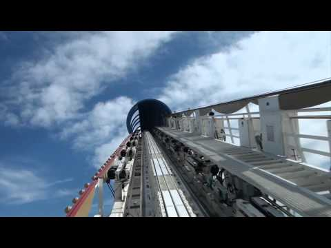 California Screamin' Roller Coaster Front Seat POV Disneyland Disney California Adventure 1080p HD